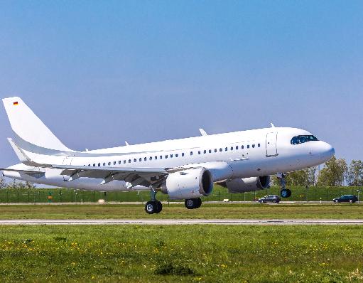 空客ACJ319neo公务机已成功的完成了首次飞行测试项目