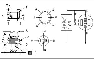 MQ-2气体传感器的中文数据手册免费下载