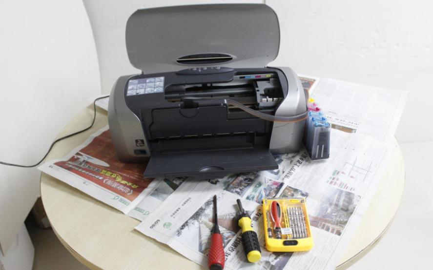 爱普生r230喷墨打印机如何进行拆解详细图文说明