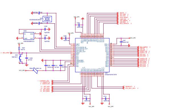 电流检测板电路原理图免费下载