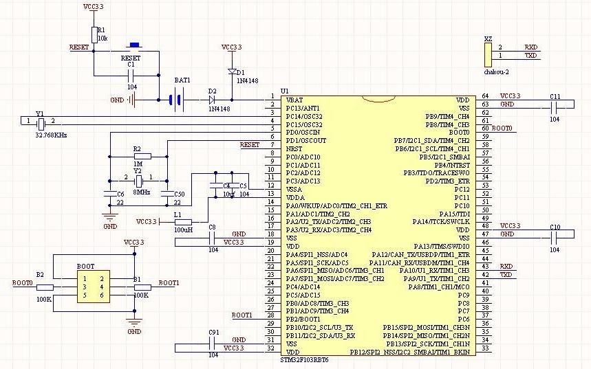 大量元器件原理图SCHDOC文件原理图库合集免费下载
