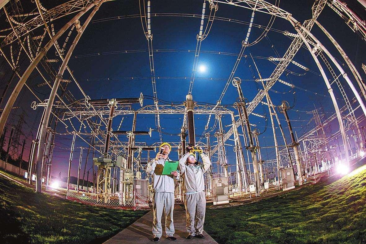 广东电网到2020年底将实现220千伏及以上电压...