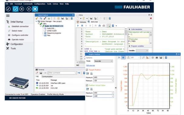 FAULHABER运动管理器软件手册资料免费下载