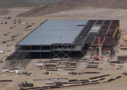 Gigafactory 3的建设速度如此之快,以...
