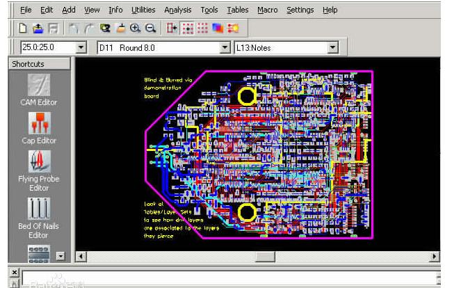 CAM350印刷线路板制作软件应用程序免费下载