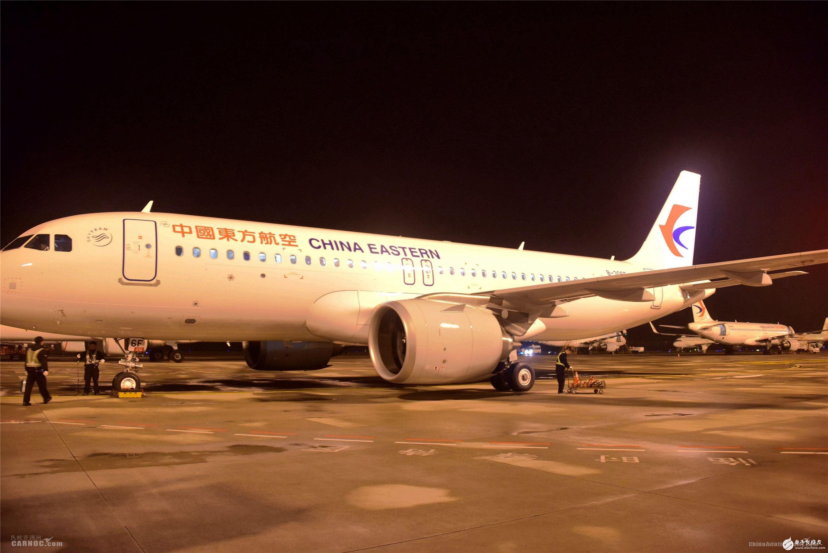 东航江苏公司正式迎来了一架机号为B_十佳发动机