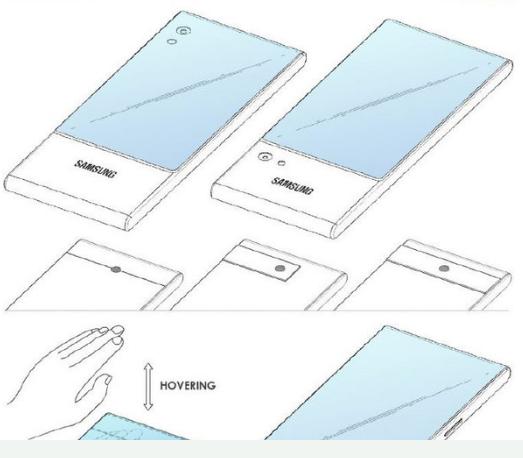 三星双面屏幕的设计新专利曝光将柔性屏玩出了新高度