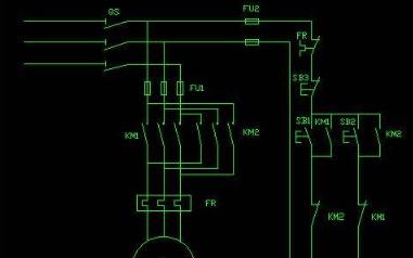 全硬件的方式实现马达正转的方法