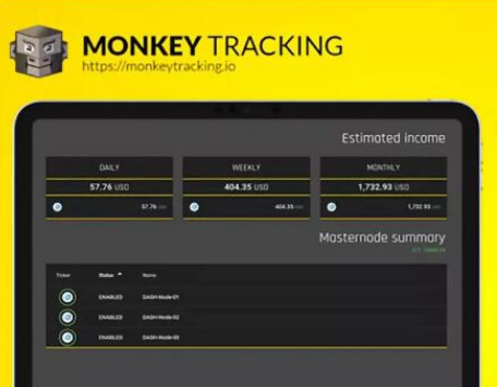 Monkey Tracking应用程序将使加密数...