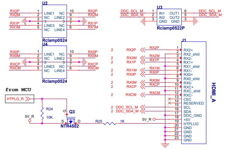 EP9351 HDMI高清芯片的参考电路图免费下载