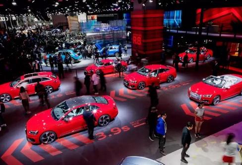 奥迪20多款明星车型亮相 科技引领智慧出行