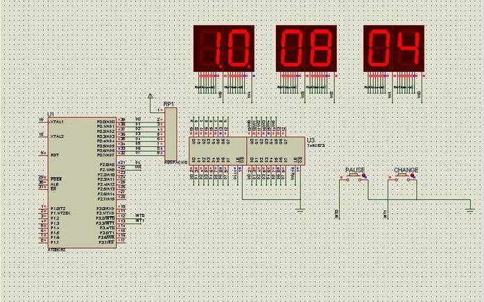 Proteus的电子可调时钟的C语言程序仿真资料合集免费下载