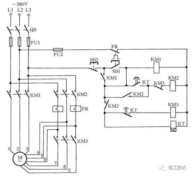 18种电动机降压启动电路图