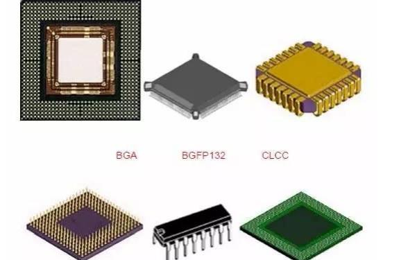 70种电子元器件和芯片的封装类型详细资料介绍