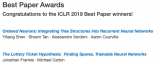 ICLR 2019在官网公布了最佳论文奖!