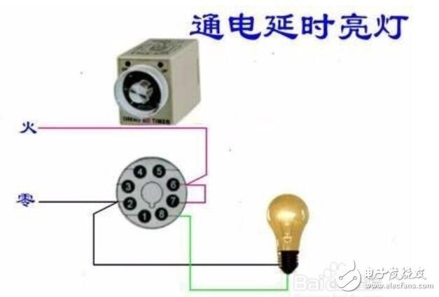 时间继电器使用方法