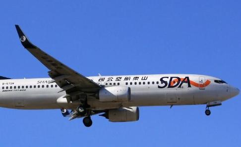 山航历史上首架737-800飞机客舱布局已顺利完成改装