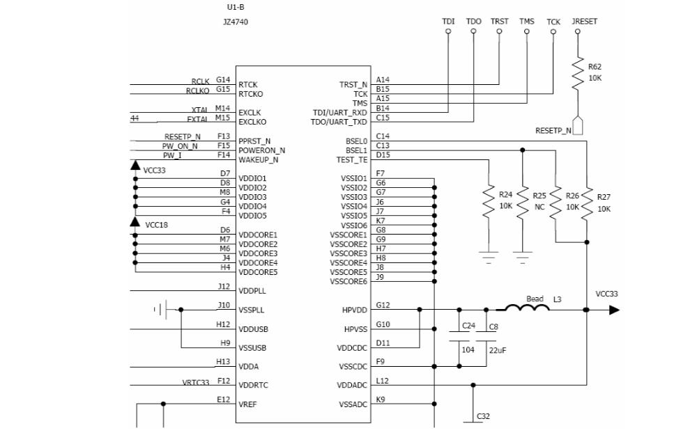 主控制器MCU JZ4740的詳細資料介紹