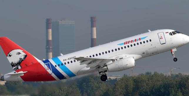 亚马尔航空表示将取消订购的10架SSJ100飞机订单