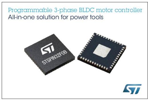 意法半导体STSPIN32单Shunt BLDC...