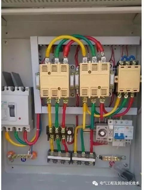 星三角启动的电流计算和启动原理以及使用条件