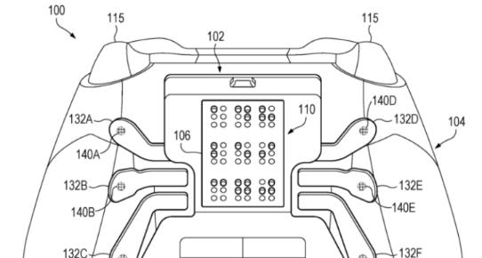 微软新专利曝光 将为视觉障碍人群提供一款内置了盲文显『示器的Xbox控制器