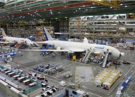 波音計劃用西雅圖工廠的技術改進來取代900名檢查員的工作