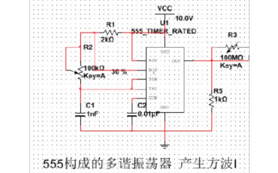 多种波形产生电路的设计论文资料说明