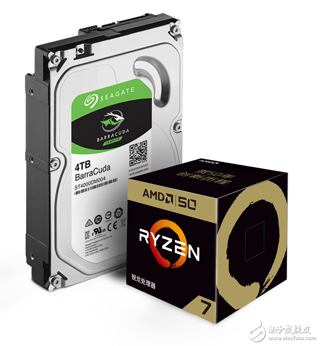 希捷与AMD联合推出限量版DIY套装,引领DIY产业新风尚