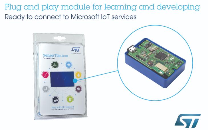 意法半导体将推出传感器模组SensorTile....
