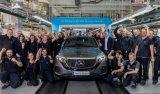 奔驰EQC德国量产 搭载80KWh三元电池系统