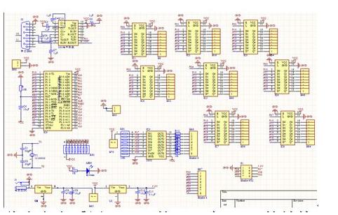 使用51单片机设计的光立方C语言程序和资料说明