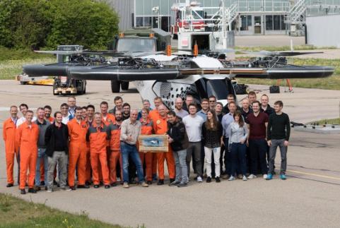 空客公司的空中出租车原型机CityAirbus已在德国完成测试首飞