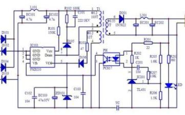 隔离式反激开关电源设计中计算变压器的参数设置