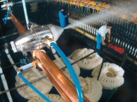 温湿同�右磺ё�山峰�谋澈箫w出度控制在纺织品加工中的重要性