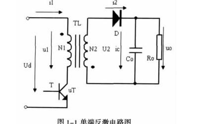 如何使用UC3845进行单端反激DCDC变换器的研究