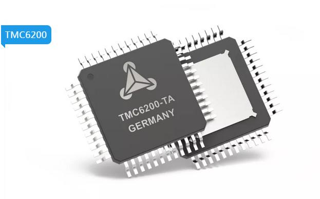 Trinamic推基于PMSM伺服或BLDC电机的高功率栅极驱动器—TMC6200