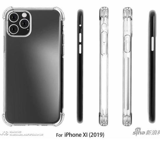 2019款iPhone手机曝光背后主镜头将有三颗...