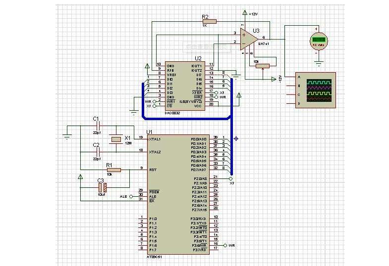 使用单片机控制PCF8591进行AD转换和进行DA转换的详细资料说明