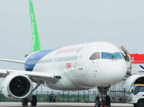 中国首款国产大型客机C919用实力证明了中国正在成为航空大国