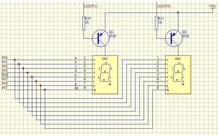 DHT11数字温湿度传感器数码管显示程序免费下载
