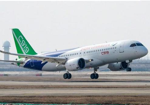 中國已研發出了自己的C919中型客機將打破美歐對世界航空業的壟斷