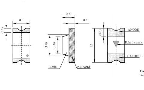 XGS-PB1608UW-02 LED燈珠SMD0603數據手冊免費下載