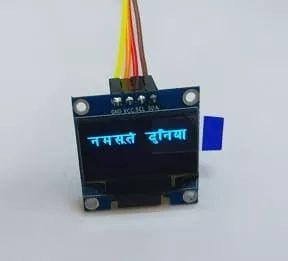 u8g2单色驱动屏软件包