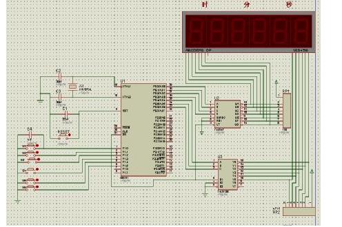 使用單片機進行數字時鐘的設計資料和程序合集吳鑒鷹