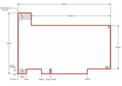 如何設計出不規則形狀的PCB電路板