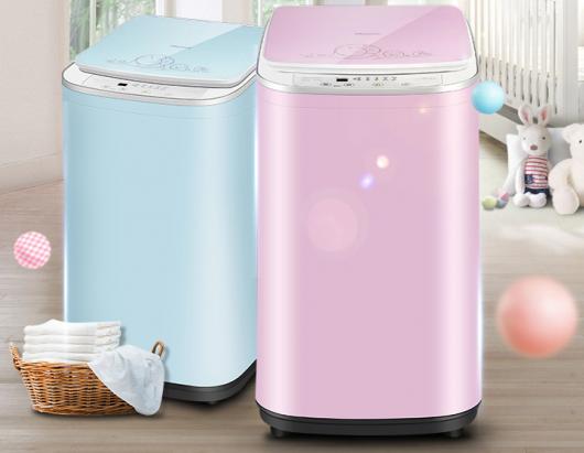 海信推出小型母婴迷你洗衣机 呵护宝宝健康从衣开始