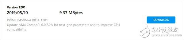 华硕发布B450M-A主板BIOS更新 添加对AMD下一代AM4接口处理器的支持