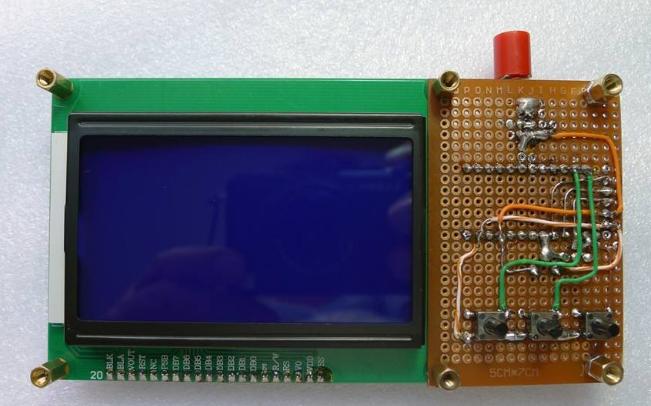 Arduino示波器制作资料说明