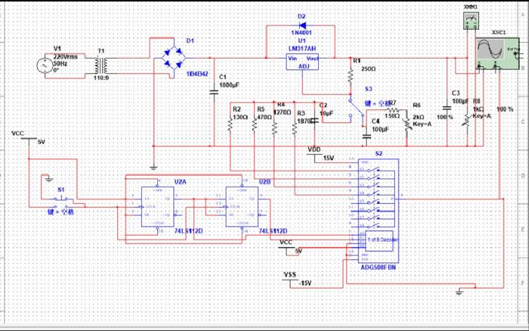 数控稳压电源的设计与制作的详细资料说明
